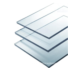 4mm clear solid flame resistant polycarbonate sheet